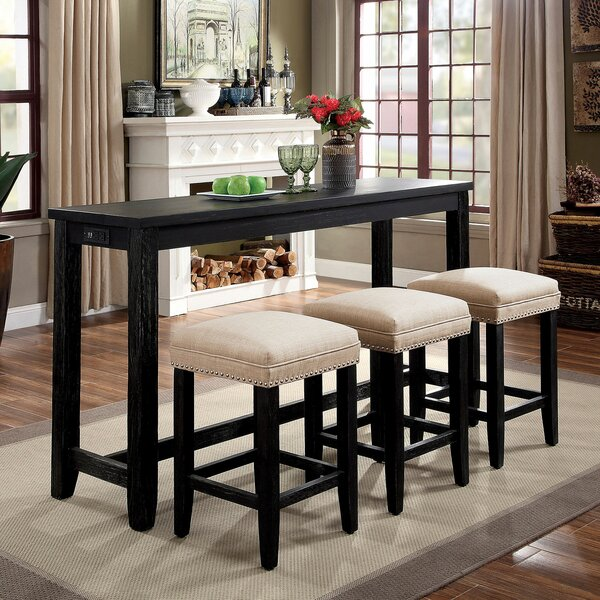 SkeltinCleveland 4 Piece Dining Set by Alcott Hill