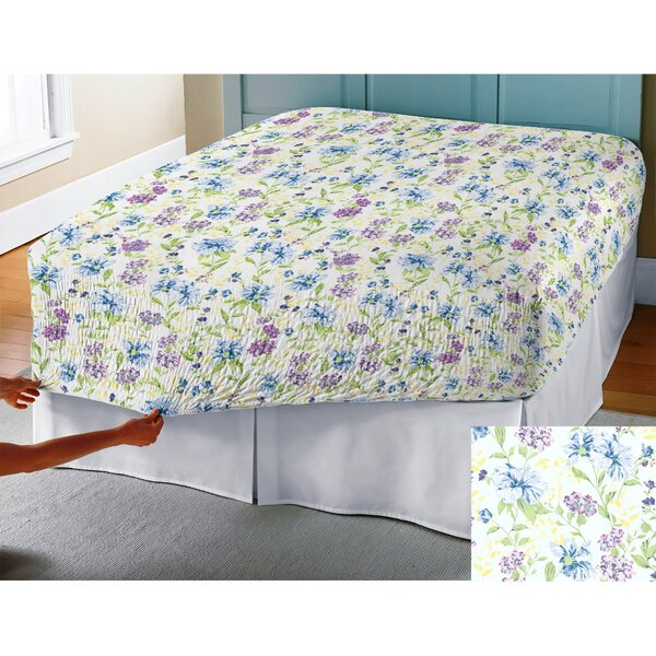 BedTite Marissa Floral 300 Thread Count Cotton Sheet Set by PDK Worldwide