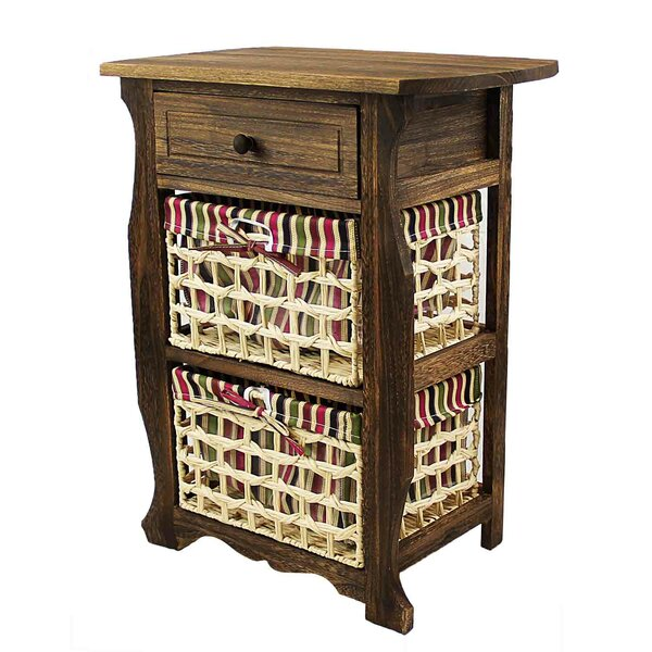 Steinberger Classic Countryside Wood Storage 1 Drawer Nightstand by Millwood Pines Millwood Pines