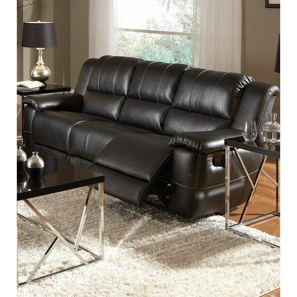 Best #1 Sébastien Modern Reclining Sofa By Red Barrel Studio Spacial Price