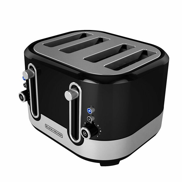 4-Slice Extra-Wide Slot Toaster by Black + Decker