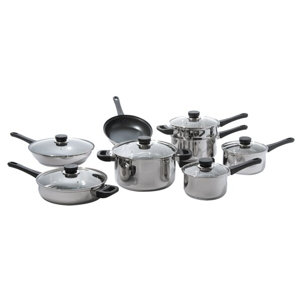 CookNCo 14-Piece Cookware Set by BergHOFF International