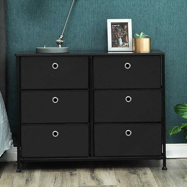 Whitestone 6 Drawer Double Dresser by Ebern Designs