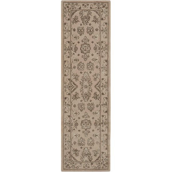 Fraserburgh Brown/Ivory Area Rug by Darby Home Co
