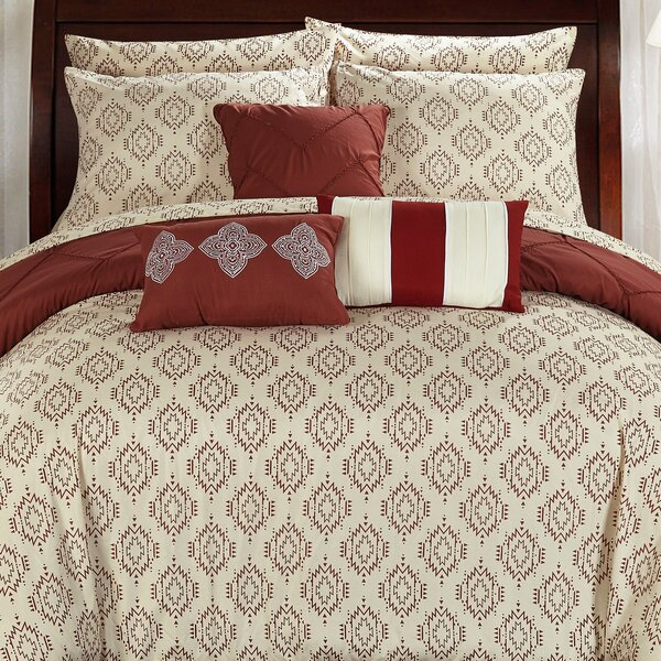 Maddie 10 Piece Reversible Comforter Set by Chic Home