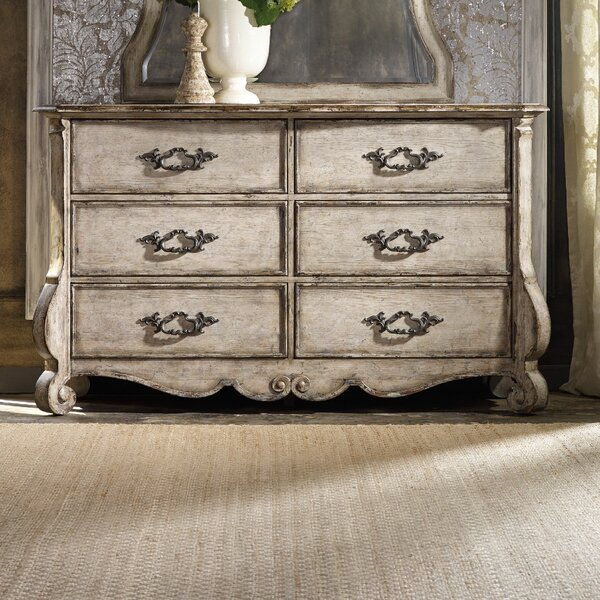 Chatelet 6 Drawer Double Dresser by Hooker Furniture