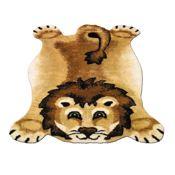 Lion Kids Rug by Walk On Me