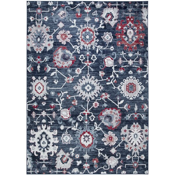 Angelmiguel Power Loom Blue Rug