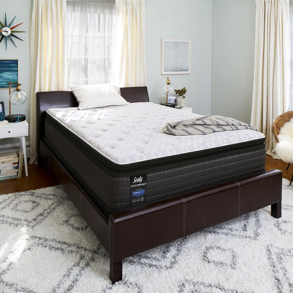 Response™ Premium 14 Cushion Firm Pillowtop Mattress and 9 Box Spring by Sealy