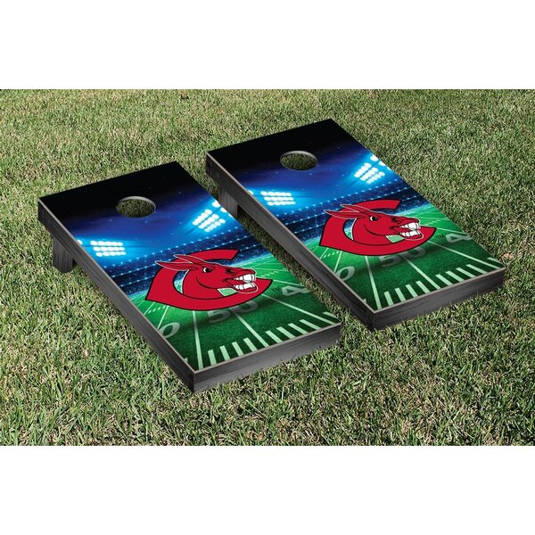 NCAA Stadium Wooden Cornhole Game Set by Victory Tailgate