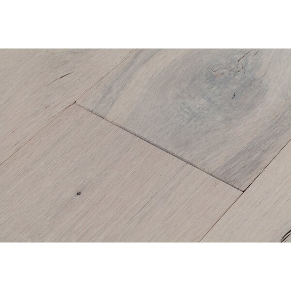 Beach Cove 7 Engineered White Oak Hardwood Flooring in Driftwood Gray by Eddie Bauer Floors