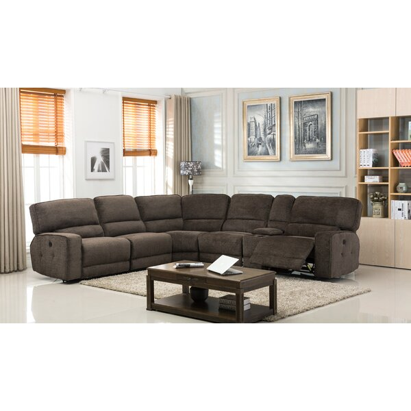 #1 Tumlin Reclining Sectional By Red Barrel Studio New