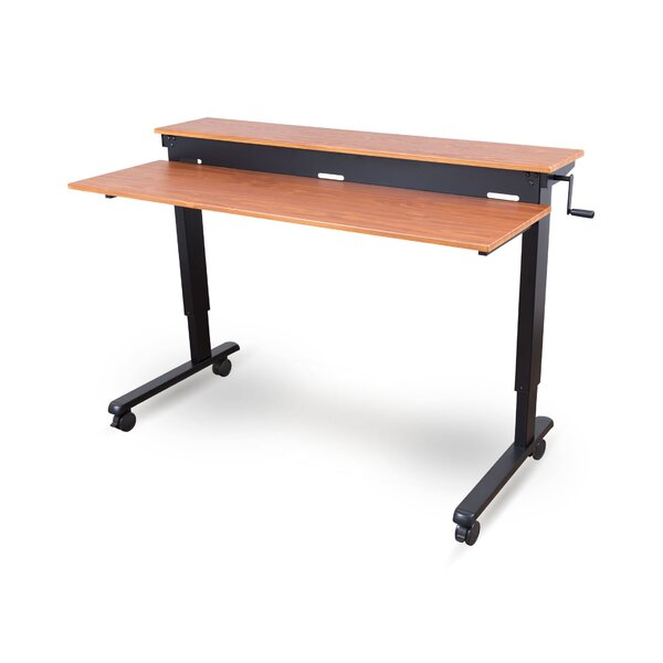 Zeledon Adjustable Standing Desk by Symple Stuff
