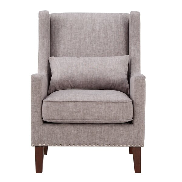 Oneill Wingback Chair by Andover Mills Andover Mills