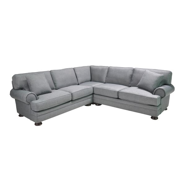 Hutchison Corner Sectional by Alcott Hill