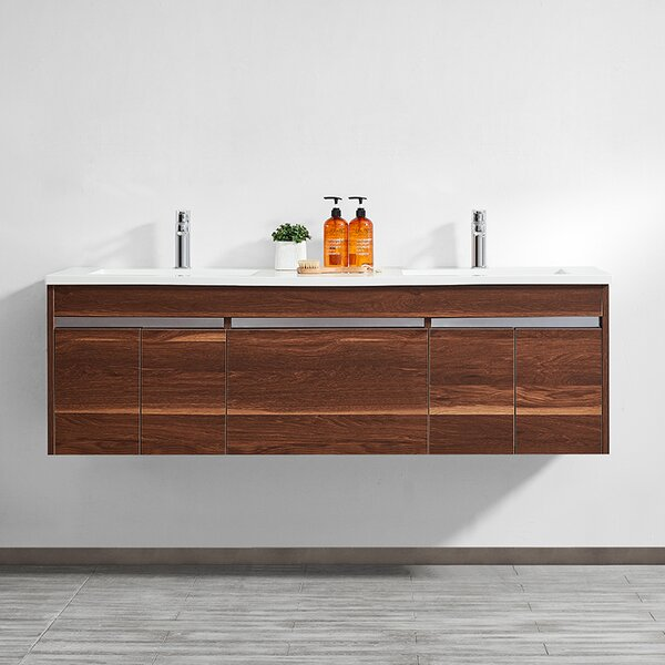 Adalynn 60 Double Bathroom Vanity by Wrought Studio