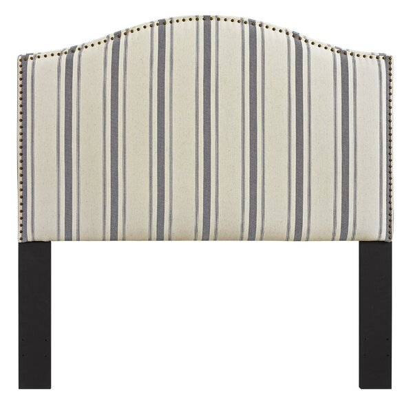 Poisson Upholstered Panel Headboard by Lark Manor