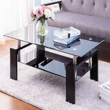 Reem Coffee Table with Storage by Wrought Studio™
