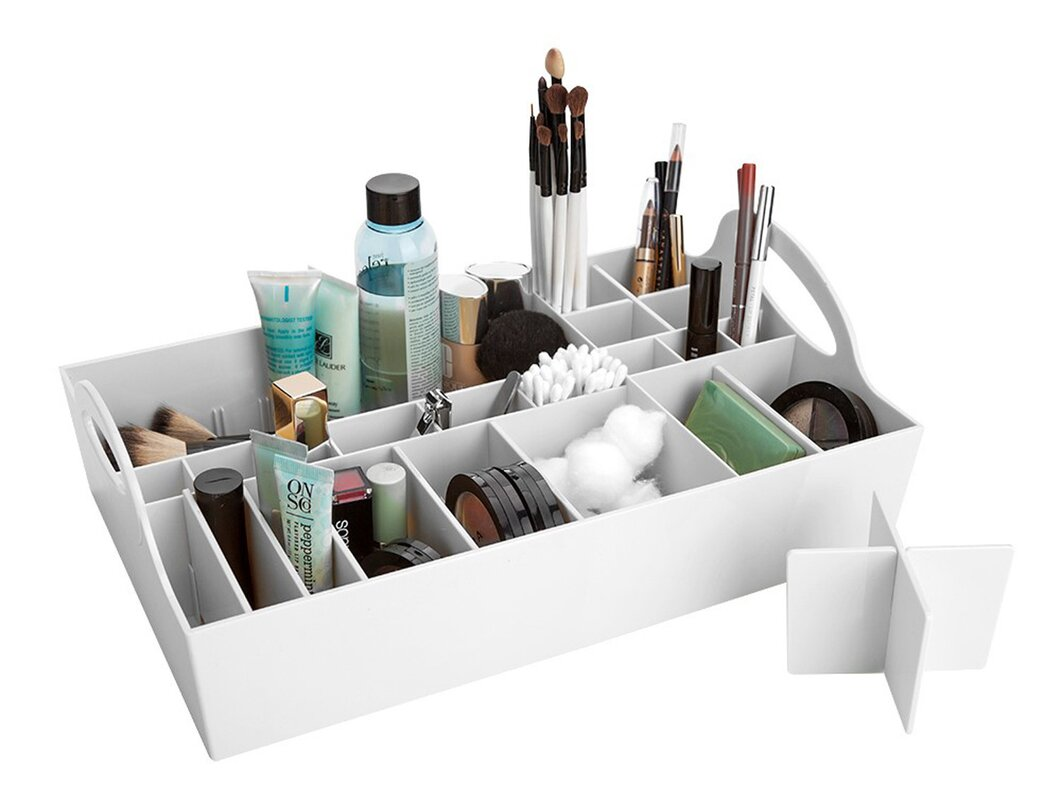 Bridge Adjustable Cosmetic Drawer Organizer