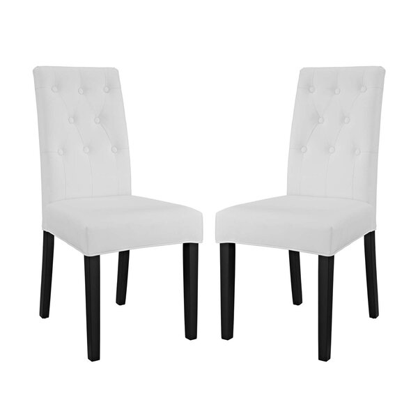 Androscogin Upholstered Dining Chair (Set of 2) by Charlton Home Charlton Home