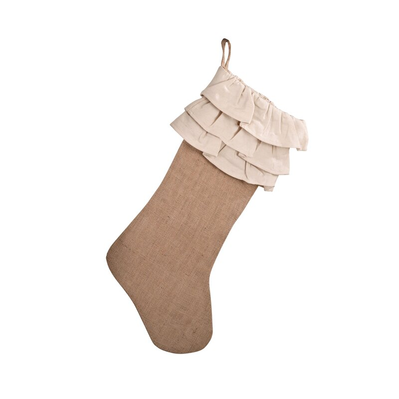 Ruffle Stocking