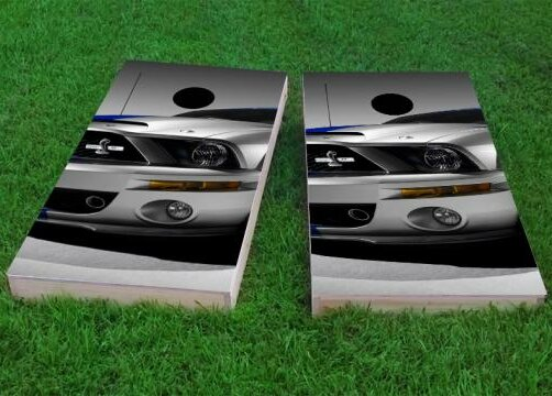 Ford Mustang Front End Cornhole Game (Set of 2) by Custom Cornhole Boards