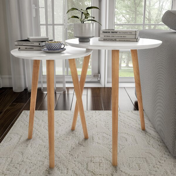 Kincer 2 Piece Nesting Tables By Ebern Designs