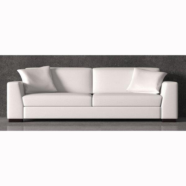 Review Vanita Top Grain Leather Sofa