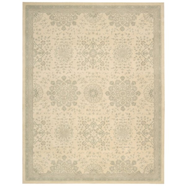Royal Serenity Kathy Ireland St. James Hand-Tufted Bone Area Rug by Kathy Ireland Home