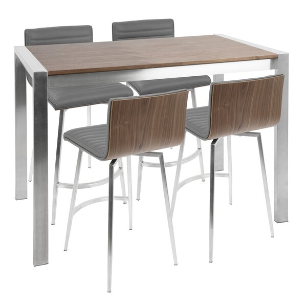 Claremont 5 Piece Counter Height Dining Set by Trent Austin Design