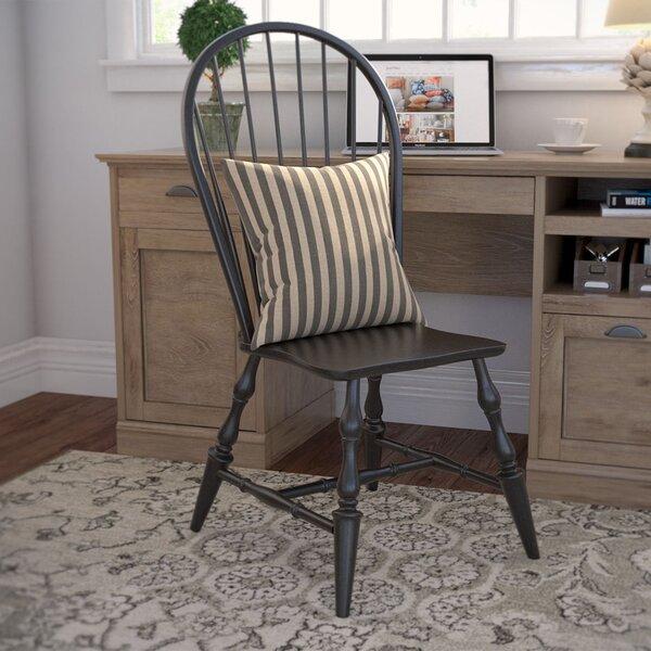 Lockwood Solid Wood Dining Chair (Set of 2) by Loon Peak