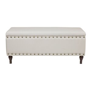 Upholstered Storage Bench by Design Tree Home