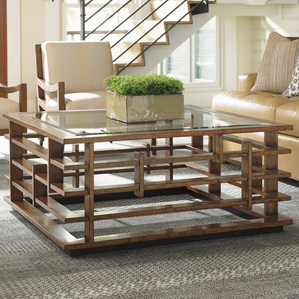 Island Fusion Nobu Coffee Table by Tommy Bahama Home