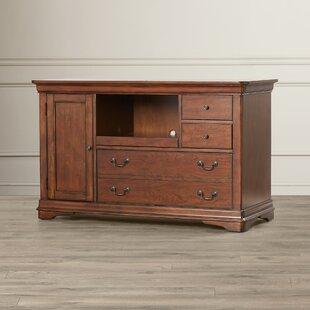 Alden Solid Wood Credenza Desk