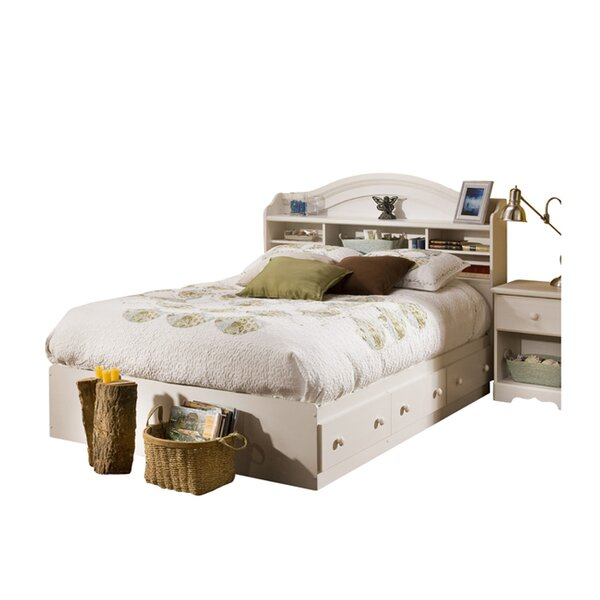 Northampt Mates & Captains Bed with Drawers & Bookcase by Three Posts Teen
