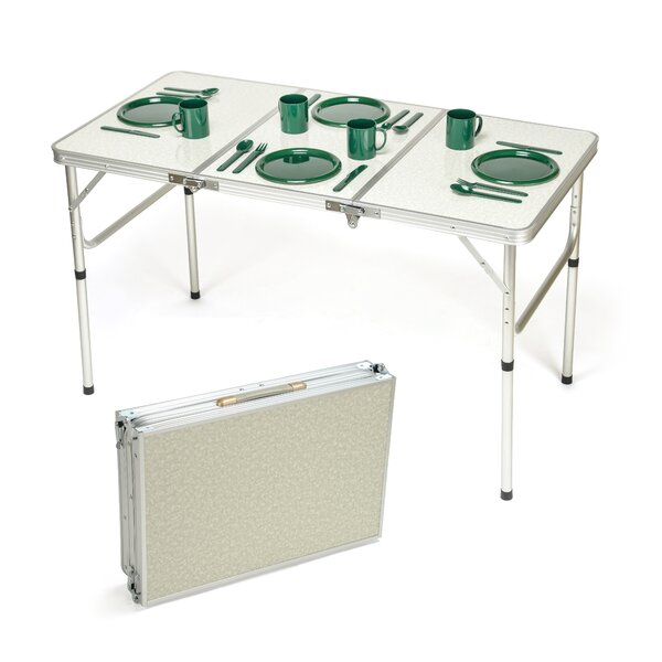 47.2 Rectangular Folding Table by Trademark Innovations