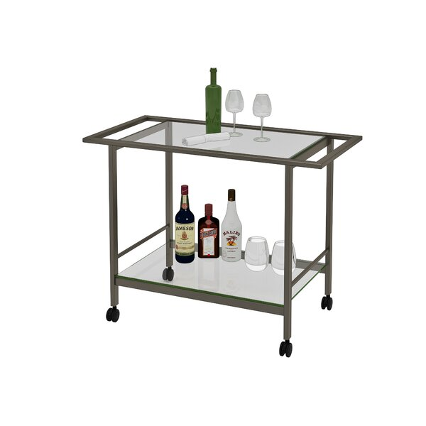 Swiger Bar Cart by Winston Porter