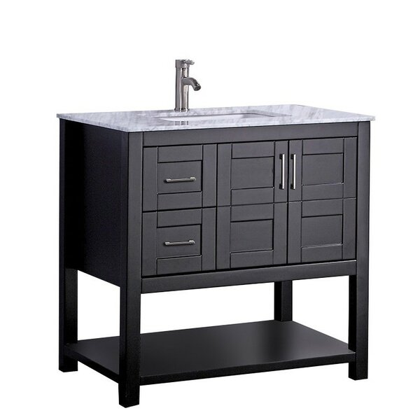 Mallouk Modern 36 Single Bathroom Vanity Set by Ivy Bronx