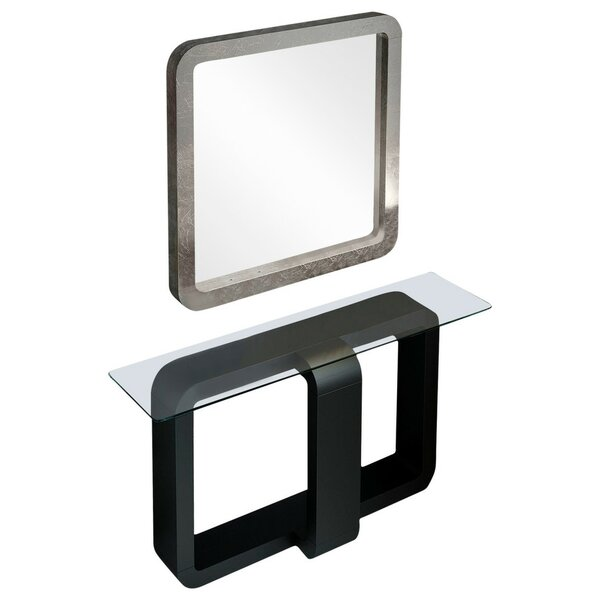 Schuller Console Table And Mirror Set By Orren Ellis
