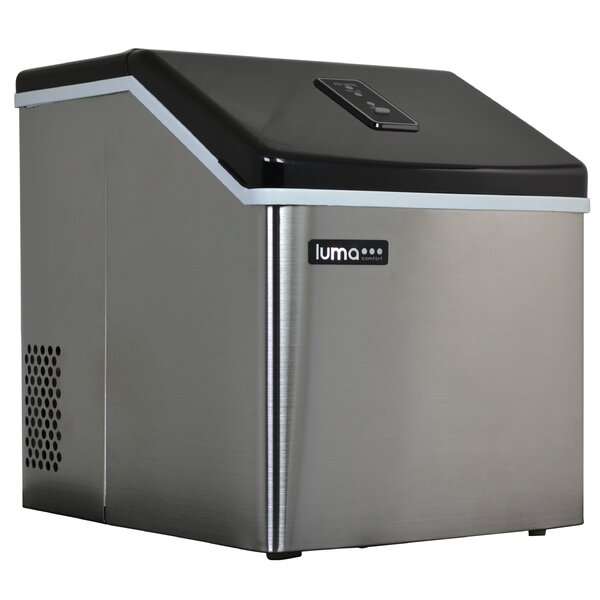 28 lb. Daily Production Portable Clear Ice Maker by Luma Comfort