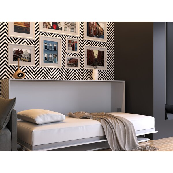 Kensa Murphy Bed with Mattress by Latitude Run Latitude Run
