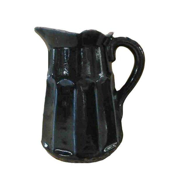 Kulikowski Ceramic Pitcher by Astoria Grand