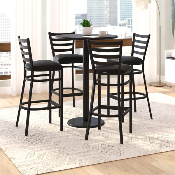 Turcios 5 Piece Pub Height Dining Set by Wade Logan