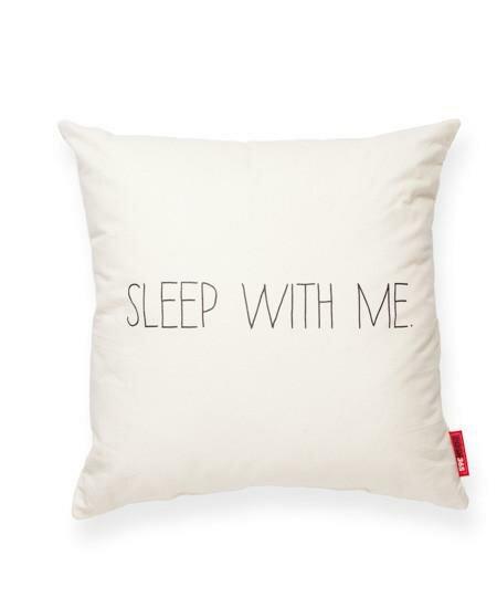 Pettis Sleep With Me Cotton Throw Pillow by Wrought Studio