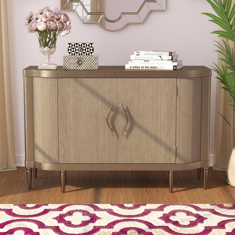 Willa arlo interiors rodger sideboard reviews - Willa arlo interiors keeley bar cart ...