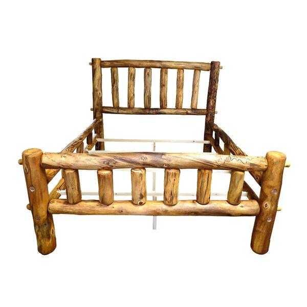 Aspen Heirloom Plateau Platform Bed by Mountain Woods Furniture