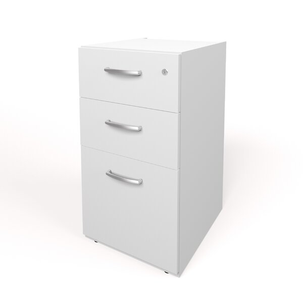 Ralph 3 Drawer Full Pedestal by Latitude Run