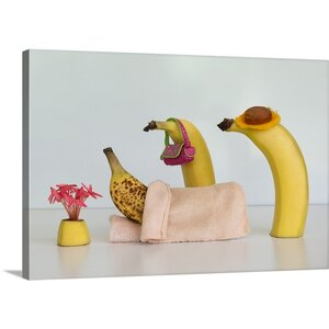 Sick Banana by Jacqueline Hammer Photographic Print on Canvas by Canvas On Demand