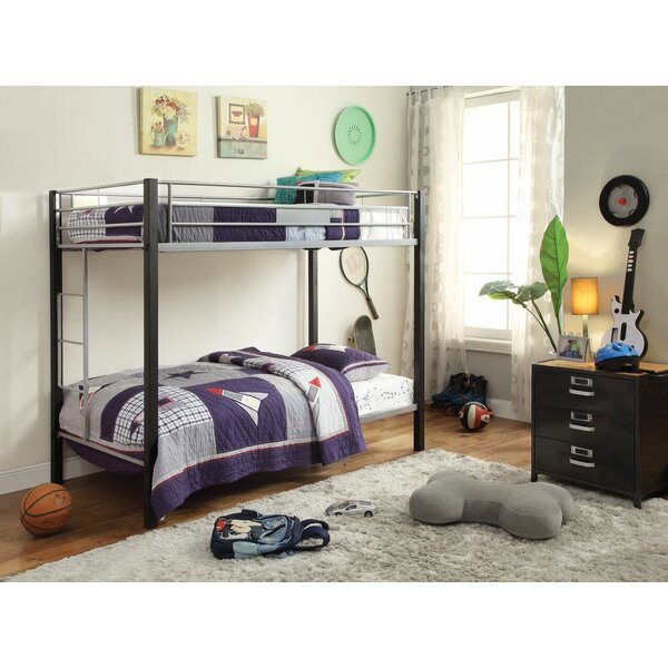 Edelstein Twin Over Twin Bunk Bed by Harriet Bee
