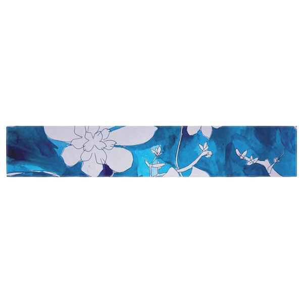 Theresa Giolzetti Succulent Dance 1 Table Runner by East Urban Home